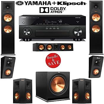 Amazon Com Klipsch Rp 280fa 5 1 2 Dolby Atmos Home