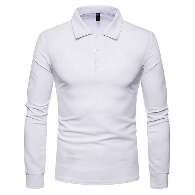UFACE neue Damenbekleidung - Polo - Cuello hálter - con Botones - Manga  Larga - para Hombre Blanco L  Amazon.es  Ropa y accesorios aed5968387721
