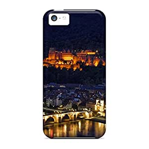 iphone 6plus 6p Shockproof phone carrying cover skin Hot Style Series heidelberg at night