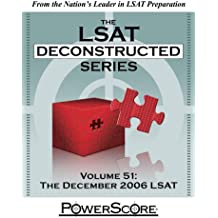 The PowerScore LSAT Deconstructed Series: Volume 51