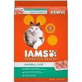 Iams PROACTIVE HEALTH Adult Hairball Care Dry Cat Food Chicken Salmon, 22 lb. Bag