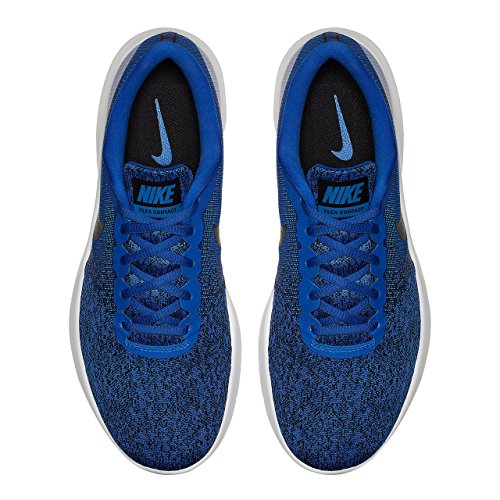 404 da Uomo Scarpe Black Racer White Running Nike Multicolore Trail Blue Contact Flex THWxSZO