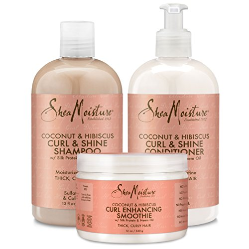 Shea Moisture Coconut and Hibiscus Combination Pack – 13 o