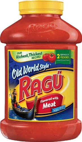 Pasta Sauce, Old World Style, Meat, 66oz by Ragu