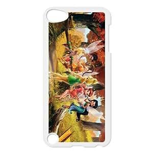 ipod 5 White phone case TinkerBellDisney Fairies Phone case JGP5475478