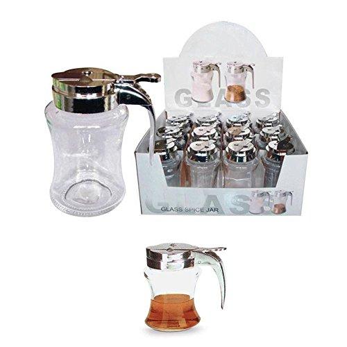 Honey Syrup Dispenser Glass Plastic