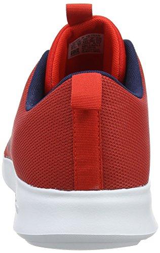 Adidas Herren Cloudfoam Snelle Racer Gymnastikschuhe Rot (core Rood / Collegiale Navy / Schoeisel Wit 0)