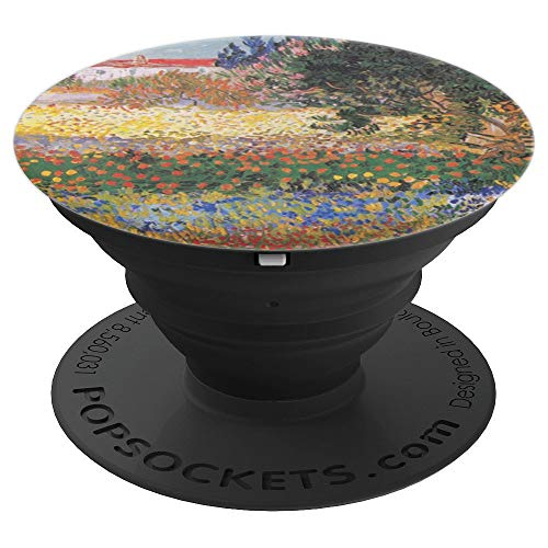 Phone Holder Art Cool Vincent Van Gogh Artist Flower Garden - PopSockets Grip and Stand for Phones and Tablets