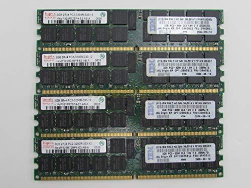 (IBM 39M5811 Hynix 8GB 4 x 2GB 2Rx4 PC2-3200R Server Memory HYMP525R72BP4-E3 AB-A (Certified Refurbished))
