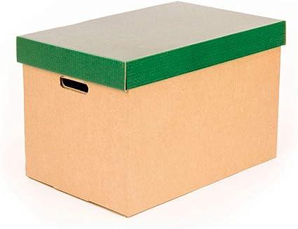 Kartox | Cajas de almacenamiento con tapa verde mate | Cajas para ...