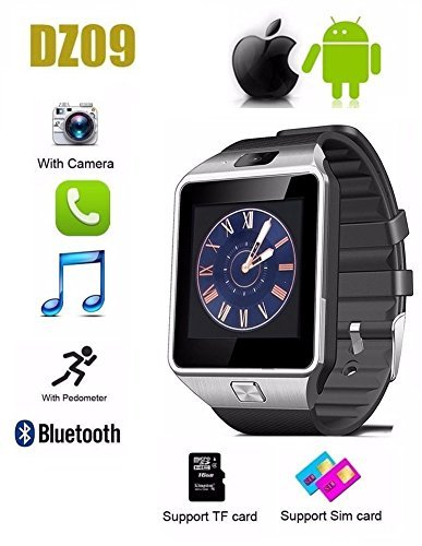 outlet store b5123 7c379 Apple iPhone 8 plus Compatible Smartwatch bluetooth: Amazon.in ...