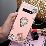 ikasus Case for Galaxy S10 Diamond Case,Crystal