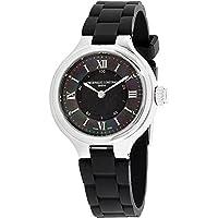 Frederique Constant HSW Black Dial Silicone Strap Ladies Watch FC281GH3ER6