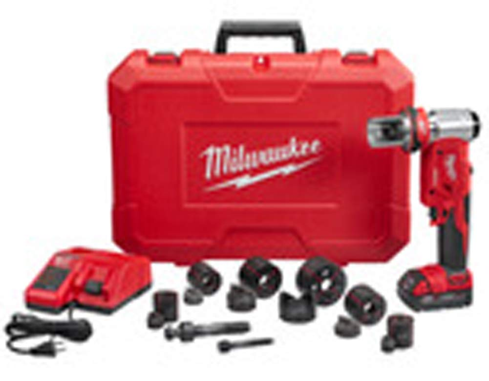 Milwaukee 2677-21 M18 FORCE LOGIC 6T Knockout Tool 1 2 – 2 Kit