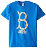MLB Los Angeles Dodgers Men's 58E Tee, Royal, Large