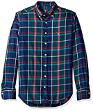 GANT Men's Check Shirt, IVY Green, XXL