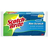 Scotch-Brite Non-Scratch Scrub Sponge, Clean Tough Messes Without Scratching - 9 Sponges Total