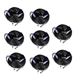 VideoSecu 8 Pack 150ft HD Security Camera Video Power Cables Pre-made All-in-One Extension Wire Cord with BNC RCA Connectors for 720P 960P 960H CCTV Surveillance Camera DVR System WUE