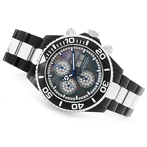 New Mens Invicta 23287 Reserve 0.81ctw Diamond Swiss Valjoux 7750 Automatic Watch (Swiss 7750)