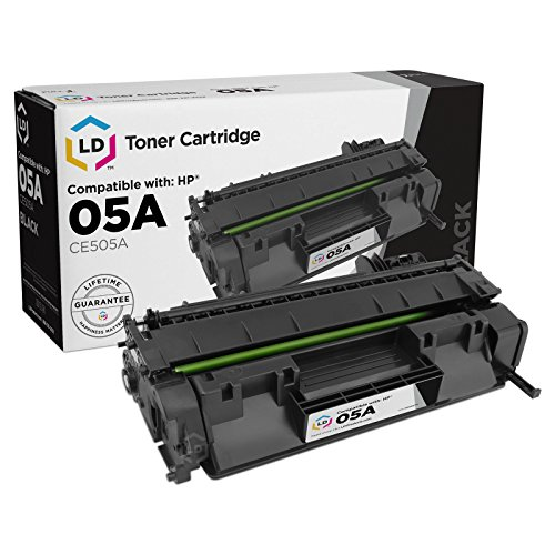 LD Compatible Toner Cartridge Replacement for HP 05A CE505A