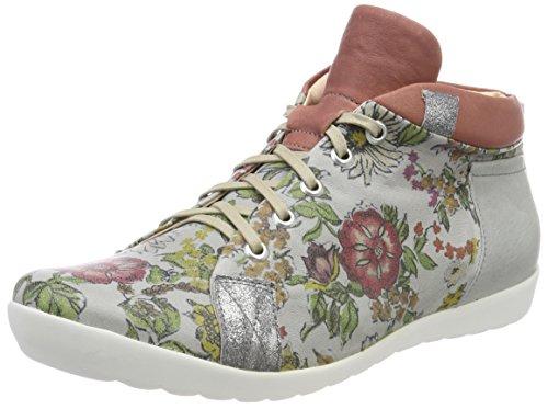 Think Anni_282059, Sneaker a Collo Alto Donna Grigio (Stahl/Kombi 19)