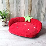 Vivian Inc Sofas & Chairs - Cute Dog Sofa Pet Cat Kennel Washable Sleeping Bed Pet