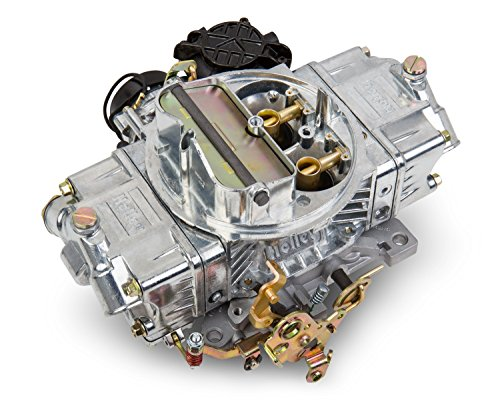 (Holley 0-80870 Street Avenger 870 CFM Four Barrel Vacuum Secondary Electric Choke Carburetor)