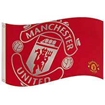 Official Manchester United fc Large crest Red flag 152cm x91cm new release