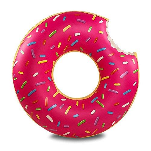 TOAOB PVC Schwimmring Käse Donut 105cm Schwimmen Ring