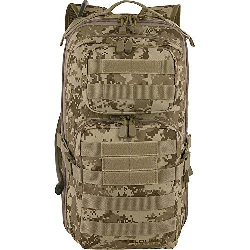 Digital Hydration Pack - Fieldline Tactical Surge Hydration Pack (Black) (Digital Sand)