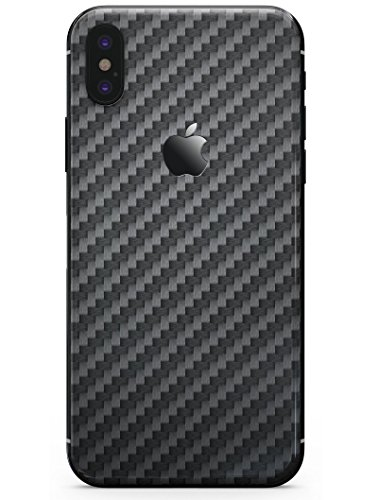 Carbon Fiber Texture - DesignSkinz Ultra-Thin/Precision-Fit Skin for the iPhone X/Soft Matte Finish
