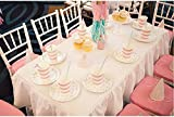 24set Disposable Dinner Paper Plates Cups Wedding Celebrations Party Tableware(YELLOW SET)