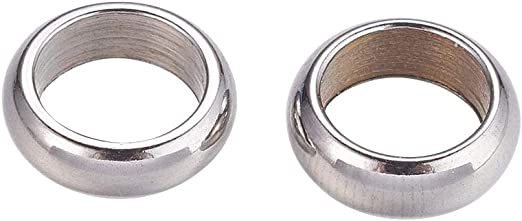 Pcs DIY Jewellery 304 Stainless Steel Round Open Jump Rings Silver 1 x 6mm  100