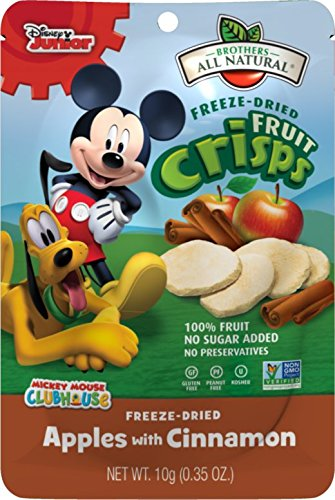 Brothers All Natural Fruit Crisps Mickey Mouse Apple Cinnamon 035
