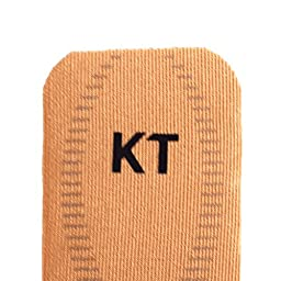 KT Kinesiology Tape Pro 10 Inch Strip For Muscle & Ligament Pain Beige X 20
