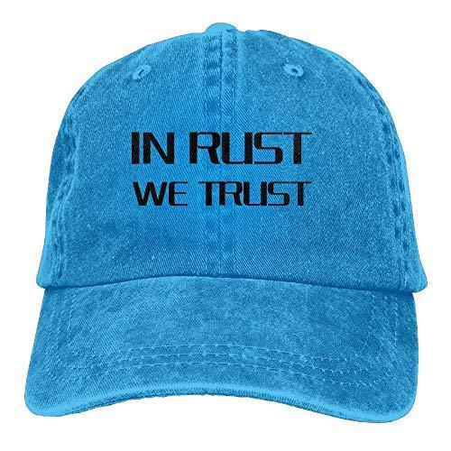 Denim We Cap Skull for Rust Men Hats Cowgirl Sport Women Trust Hat Cowboy in ISw6gg