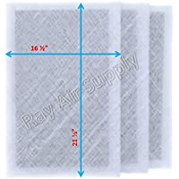 Air Ranger Replacement Filter Pads 18x24 (3 Pack) White