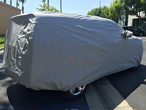 CarsCover Custom Fit 2007-2019 Chevy Suburban SUV Car Cover Heavy Duty All Weatherproof Ultrashield