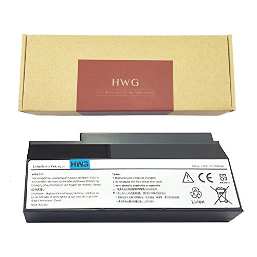 HWG Laptop Replacement Battery (A42-G73) For Asus G73 G73J G73JH G73JH-A2 G73JH-RBBX05 G73JH-X1 G73JH-X2 G53 G53SW G53J G53JW G73JW-A1 G73JW-XN1 G73SW-A1 G73SW-BST6 G73SW-XC1 G73SW-XN2 series