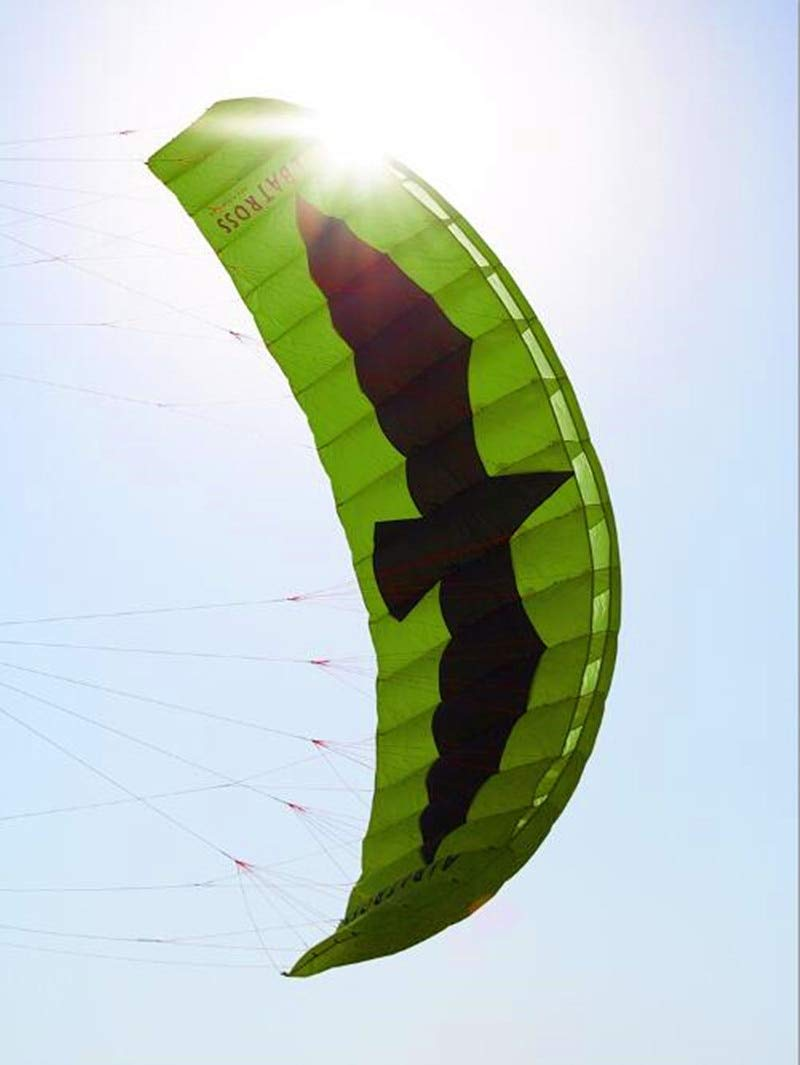 Free Shipping 5sqm Large Quad Line Power Kite Flying Toys for Adults Nylon Kite Surfing by AMLJM (Image #1)