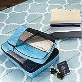 AmazonBasics 4 Piece Packing Travel Organizer Cubes