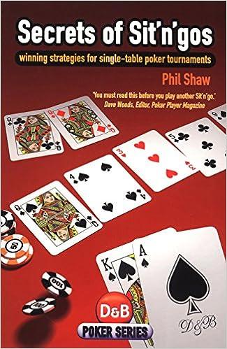 Secrets Of Sit N Gos Winning Strategies For Single Table Poker