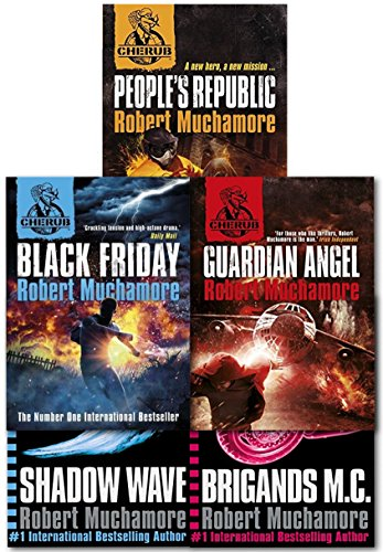 (Cherub Series 3 Collection 5 Books Set (Books 11 To 15) By Robert Muchamore (Brigands M.C, Guardian Angel, Black Friday, Shadow Wave, People's Republic))