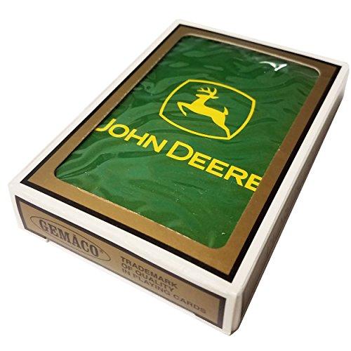 John Deere Promotional Green Yellow Logo Gemaco Poker Playing (Logo Playing Cards)