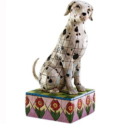 Dalmatian Figurine Dog (Jim Shore - Heartwood Creek - Dalmatian Statue by Enesco - 4004850 by IWDSC)