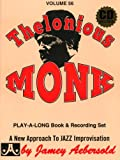 Vol. 56, Thelonious Monk (Book & CD Set)