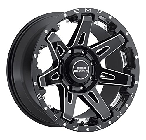BMF Wheels 468B B.A.T.L. Wheel with Milled Finish (20x9