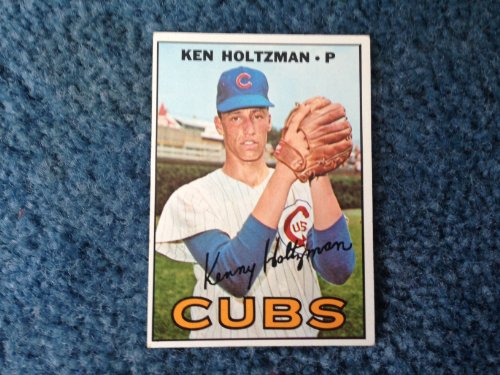 1971 Topps Baseball Ken Holtzman Rookie Card # 185! Good Shape! Chicago Cubs, Oakland Athletics, Baltimore Orioles, New York Yankees,
