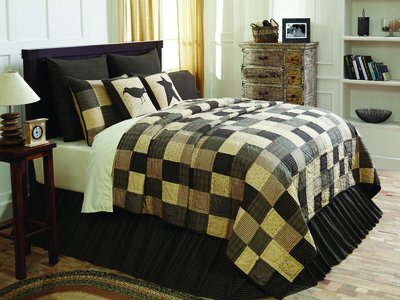 VHC Brands Kettle Grove 4 Piece King Quilt Set