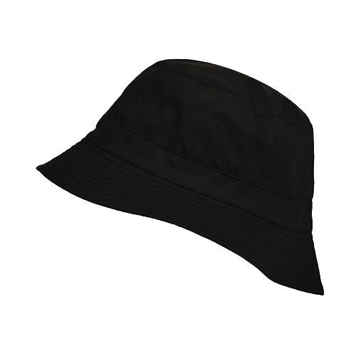 Toutacoo, Bob Impermeabile REVERSIBILE, Cappello da Pioggia in Tessuto di Cotone